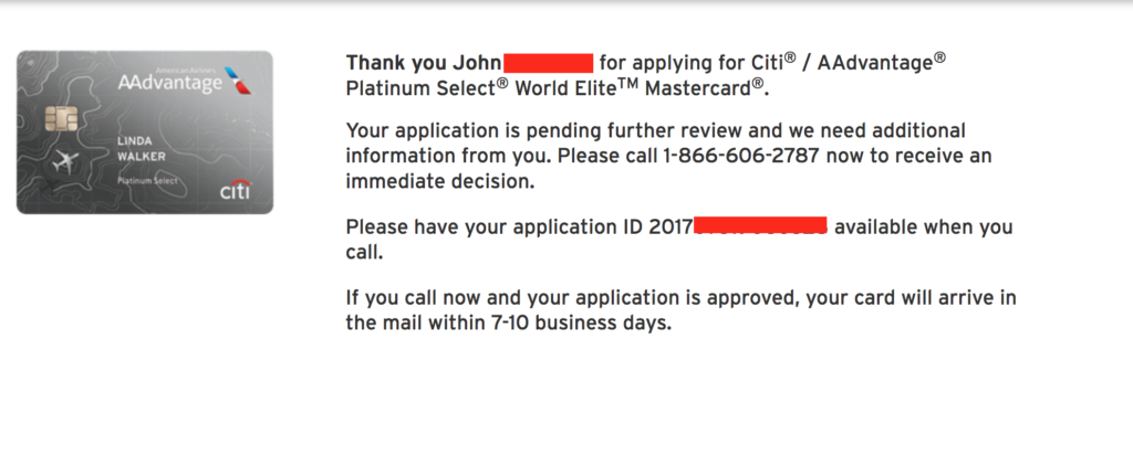 Citibank Credit Card Application Status >> How to Check Your Citibank Credit Card Application Status - The Flying Mustache